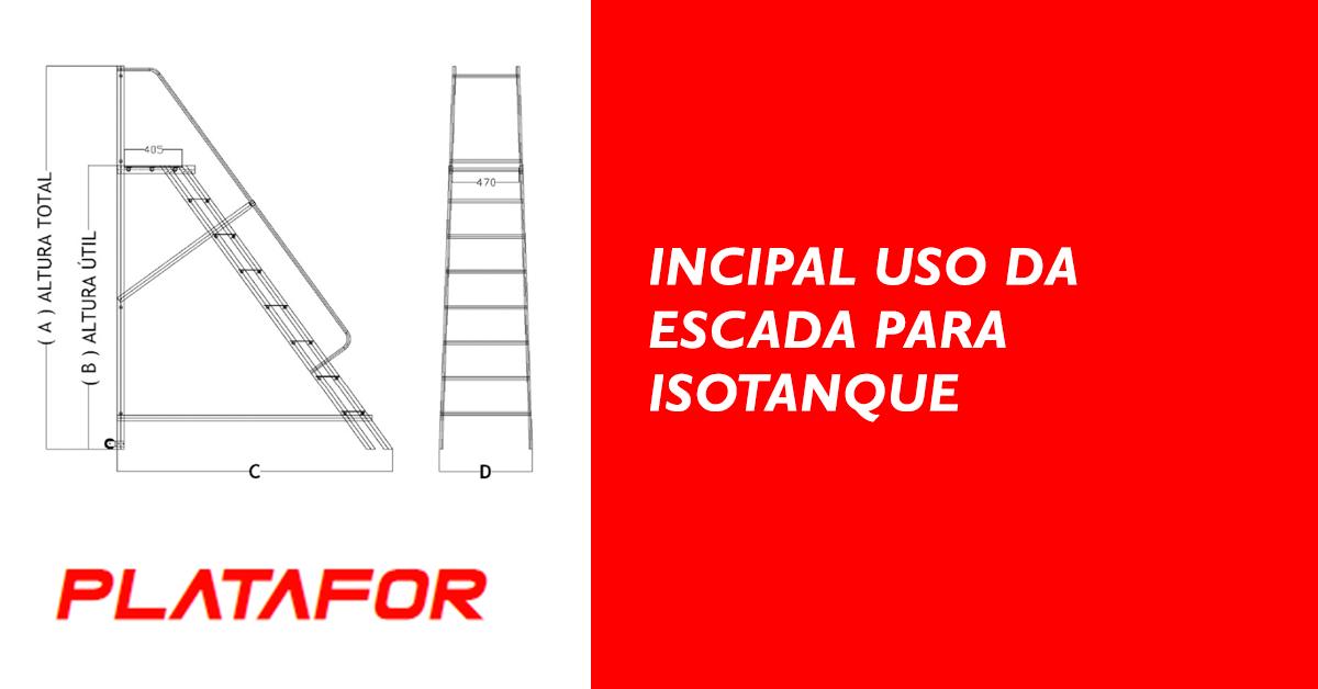 Principal uso da Escada para Isotanque