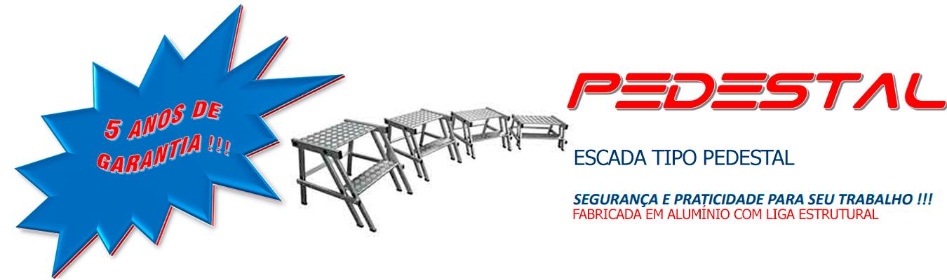 ESCADA TIPO PEDESTAL
